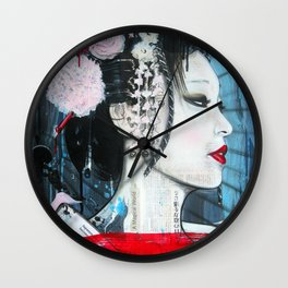 Artist of the Floating World Wall Clock