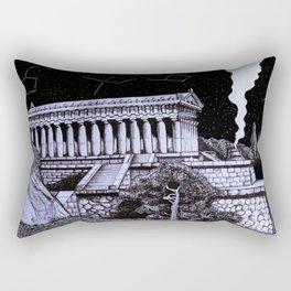 The Temple Rectangular Pillow