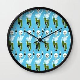 The Bird Feeder's Inheritance Wall Clock
