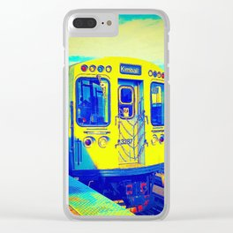city-line Clear iPhone Case