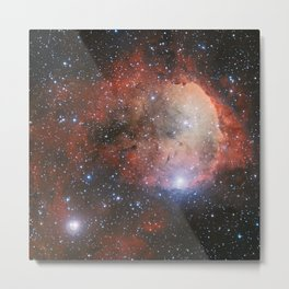 The Star Formation Region NGC 3324 Metal Print