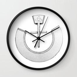 """Nazarene """"ن"""" Wall Clock"""