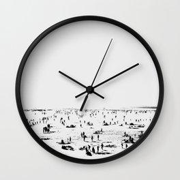 Beach Day Wall Clock