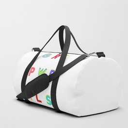 GRL PWR RLS (Girl Power Rules) Duffle Bag