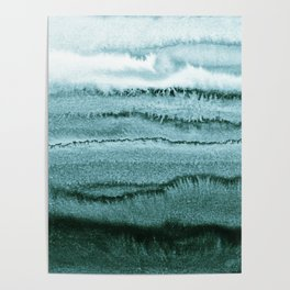 WITHIN THE TIDES - OCEAN TEAL Poster