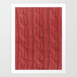 Christmas Soft Wool Art Print