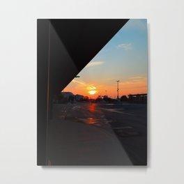 Sunrise, Montmorency Station Metal Print