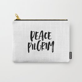 Peace Pilgrim Carry-All Pouch