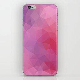 """Wild berries smoothie"" geometric design iPhone Skin"
