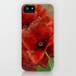 Poppy Resistance - Flowers... make everything better iPhone Case