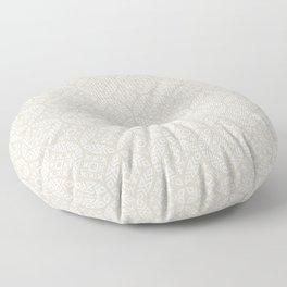 modern moroccan - beige Floor Pillow