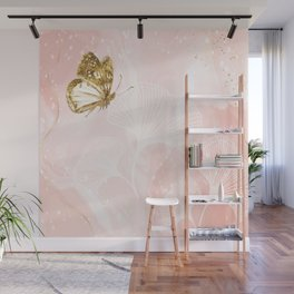 ,Botanical ,Blossom ,Beautiful ,Style ,Flowe Wall Mural