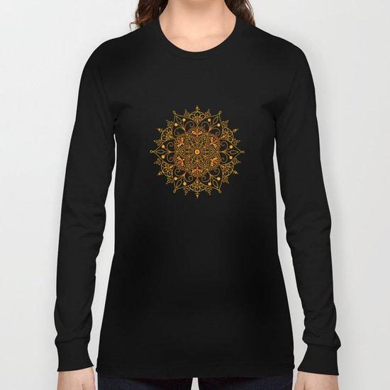 Mandala_Passion Long Sleeve T-shirt