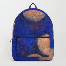 Golden Orbs 1 - Horizontal Backpack