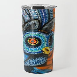 Owl Alebrije Travel Mug