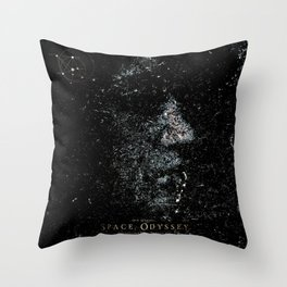 Space odyssey Girl Throw Pillow