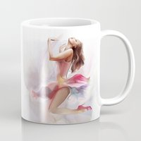 dirty dancing Mugs featuring dancing by tatiana-teni