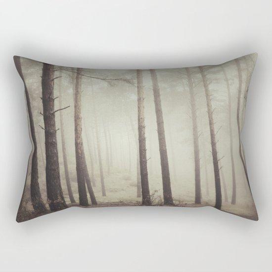 """Into the woods"". Follow your dreams.... Rectangular Pillow"