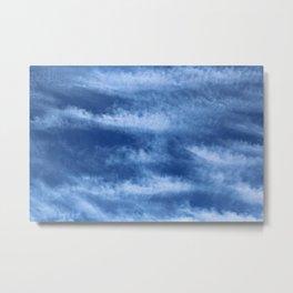 Blue sky expression Metal Print