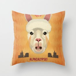 ALAPACALYPSE! Throw Pillow