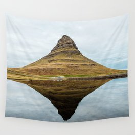 Mountain reflect Wall Tapestry
