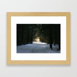 Flying Angel Framed Art Print