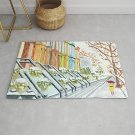 Winter in NYC Rug