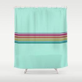 Vintage T-shirt No10 Shower Curtain