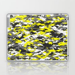 Whippet camouflage Laptop & iPad Skin