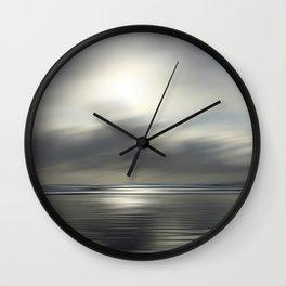 Winter Seascape Wall Clock