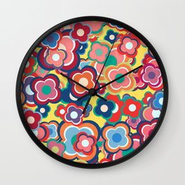 All the Pretty Colors Wall Clock
