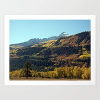 On the Road to Ouray Art Print