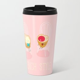 Apply you like every morning,then have a nice day !  Travel Mug
