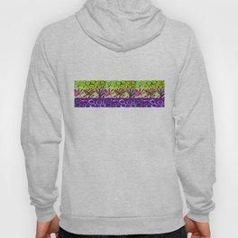 Grape strip Hoody