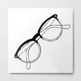 Eyewear Metal Print