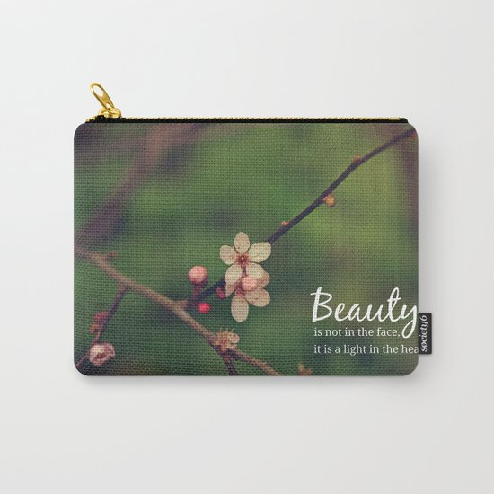 Beauty is in the heart Carry-All Pouch