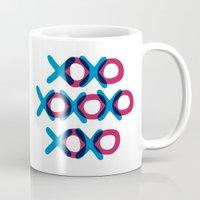 xoxo Mugs featuring XOXO by ghennah