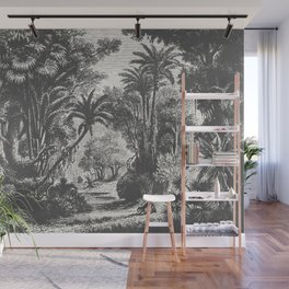 Indian Jungle Wall Mural