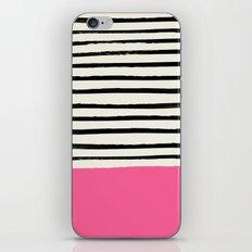 Watermelon & Stripes iPhone & iPod Skin