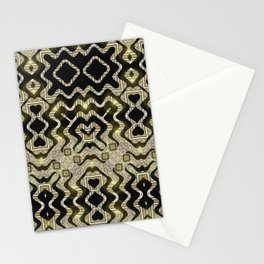Tribal Gold Glam Stationery Cards