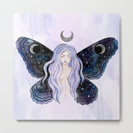 Cosmic Fairy Metal Print