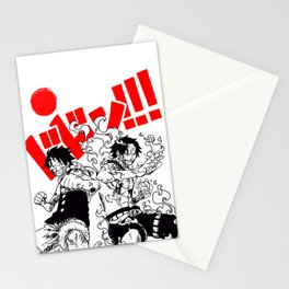 One piece japan Stationery Cards