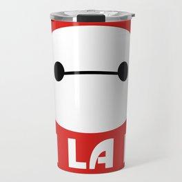 Fist Bumping Robots Travel Mug