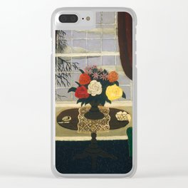 Victorian Interior I by Horace Pippin, 1945 Clear iPhone Case
