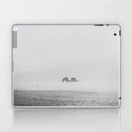 Coastal Fog on Rockaway Beach Laptop & iPad Skin