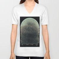 swim V-neck T-shirts featuring swim by Shawn Tegtmeier