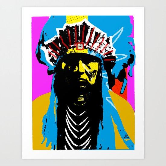 Indian Pop 29 Art Print