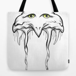 Floating Bird Tote Bag
