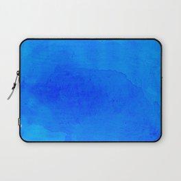 DARK BLUE WATERCOLOR BACKGROUND  Laptop Sleeve