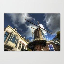 Gouda Windmill Canvas Print